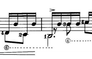 In der alten ZenON-Ausgabe war er noch da, der lange h-Bass. In der Ausgabe 2000 fehlt er bereits ...