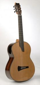Gitarre in Kasha-Bauweise von Thomas Ochs.