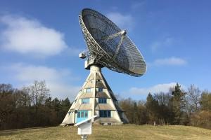 Radiosternwarte und Industriedenkmal – der Astropeiler Stockert in der Eifel