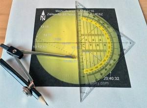Zirkeltraining für den Merkureintritt