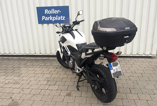Feeling vom Motorrad mit dem Stauraum eines Rollers – die NC700X/750X von Honda